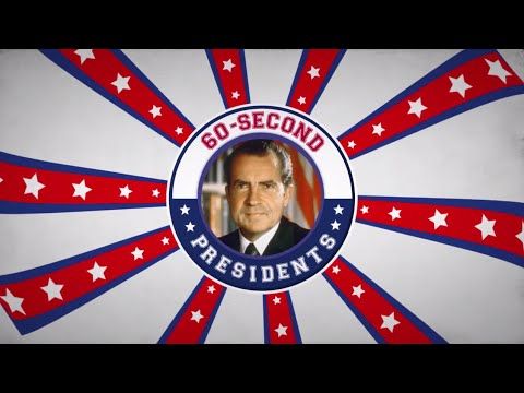 Richard Nixon | 60-Second Presidents | PBS