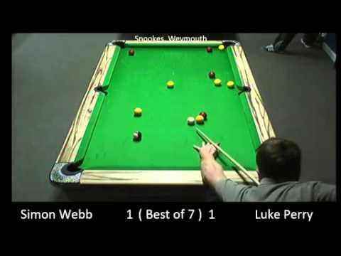 10/01/2015 - Snookes - Loser - Simon Webb v Luke Perry