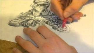 Drawing a Soldier! image by Jamie Orme