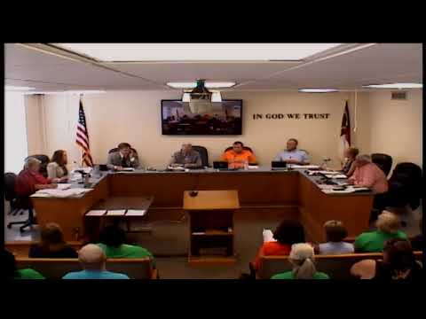 Person County Commissioners meeting