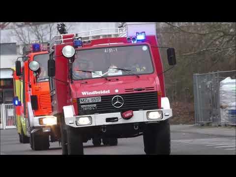 Einsatzfahrten Am Übungstag Der FF Nieder-Olm