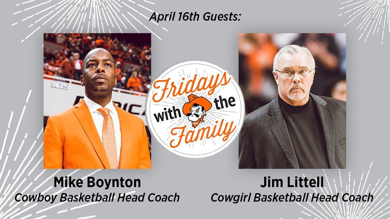 Image for Fridays with the Family - Coaches Mike Boynton and Jim Littell webinar