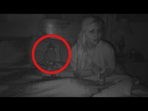 I Recorded Myself Sleeping Beside A POSSESSED DOLL In America's Most Haunted Room..