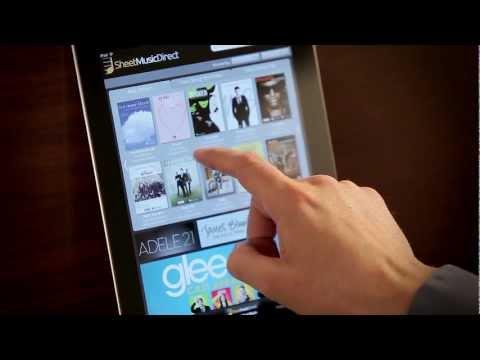 SheetMusicDirect for iPad