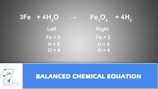 BALANCED CHEMICAL EQUATION