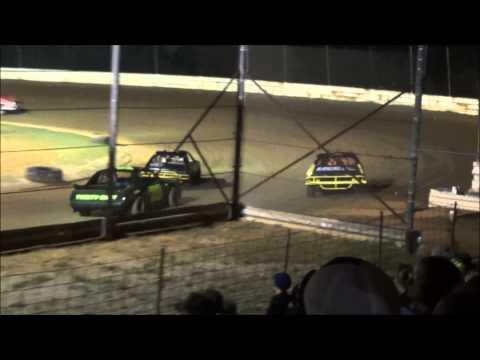 Doe Run Raceway Mini Stock Feature 6-13-14