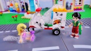 Pierwsza praca Stephanie - Bajka po polsku z klockami Lego Friends odc.80 thumbnail