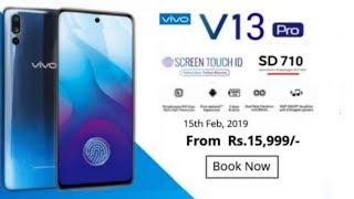 Vivo V13 Pro - 48MP Camera, 5G, Design, Price, Features & Release date