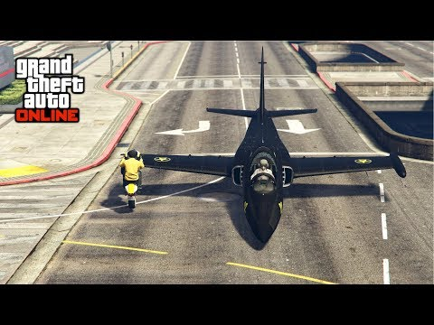 BUMPING A JET WITH A BIKE FOR INSANE HEIGHT! - (GTA 5 Stunts & Fails) / (GTA V Epic & Funny Moments)