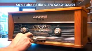 50's Tube Radio Siera SA4213A 01