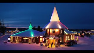 Santa Claus Village in Lapland in 4K video: Father Christmas Rovaniemi Finland(Europe Video Productions travel film: Santa Claus Village in Lapland in 4K video. Discover the home of Father Christmas in Rovaniemi in Finland in ULTRA HD., 2015-06-03T15:55:07.000Z)