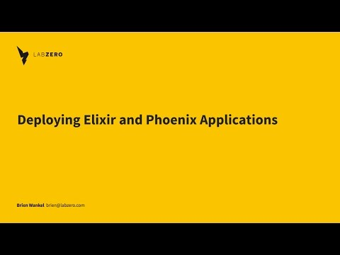Lunchdown: Deploying Elixir and Phoenix Applications