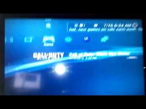 XBoxOne Call of Duty: Ghosts 'Disc Read Error 'imagefile