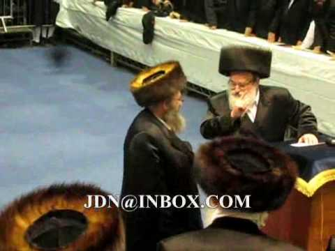 viznitz hachnosas sefer torah in London shvat 5770