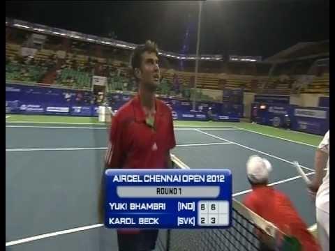 ACO 2012 - Singles R1 - Bhambri. Y vs Beck. K