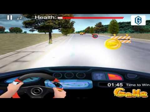 Game dua xe oto - Video hướng dẫn chơi game bé tập lái ô tô