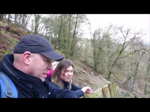 Tarr Steps: Exmoor Hiking Trip, National Trust Nature Reserve, Somerset UK