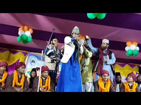 Nadeem Raza faizi and Dilbarshai jalsha madarsa Gulshane taiba  giridih jhaŕkhâđ