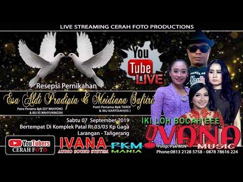 Live Streaming // IVANA MUSIC // Resepsi ALDI & DIANA// Live Larangan - Ciledug