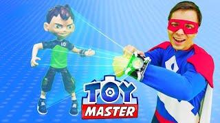 Той Мастер стал Бен 10! Видео игры для мальчиков.