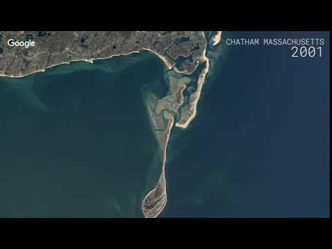 Google Timelapse: Chatham, Massachusetts, United States