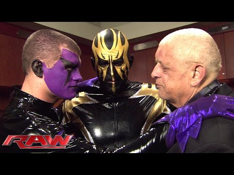 Dusty Rhodes tries to get his sons back on the same page: Raw, February 16, 2015