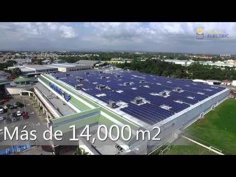 INSTALACION SOLAR CARREFOUR SANTO DOMINGO 1.25MW - SOLAR ELECTRIC SERD
