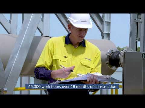 Leanyer Sanderson Waste Stabilisation Ponds Inlet Works Upgrade