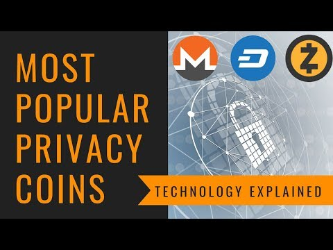 Most Popular Privacy Coins Technology Explained - Monero, Zcash, Dash