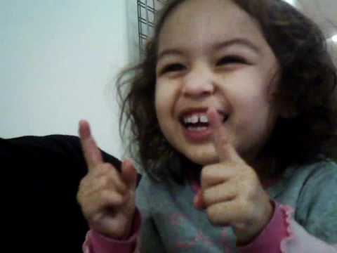 """Little girl singing to """"All I do is Win"""""""