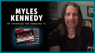 Myles Kennedy interview for Download Festival TV!