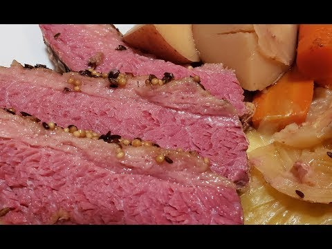 Corned Beef Dinner  - Awesome Slow Cooker Recipe