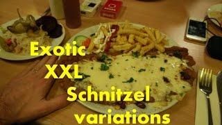 German Xxl Schnitzel - A Giant Glimpse