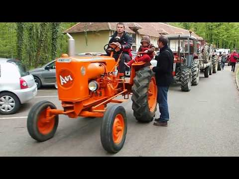 Rallye tracteurs AMICALE VENDEUVRE avril 2016