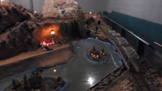 Tiny Town Train Model- Visiting Hot Springs, Ar - Kid Cannels