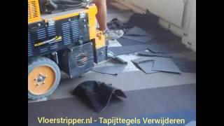 Vloerstripper.nl - Tapijttegels verwijderen