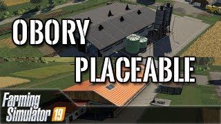 [MOD] Farming Simulator 19 - Obory placeable