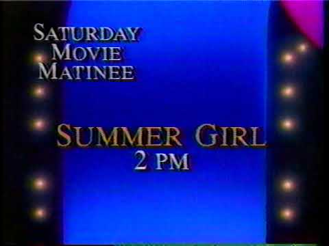 KSTW Saturday Movie Matinee Promo - February 1988