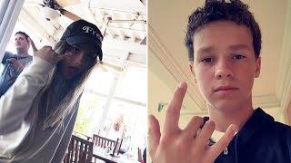 Hayden Summerall | Snapchat Videos | August 5th 2017 | ft Annie LeBlanc & Hayley LeBlanc