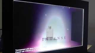 Transparent LCD Display #Perfume by AV Tech Solution 2015