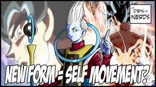 Goku's new form = mastery of self-movement? jiren vs goku breakdown!