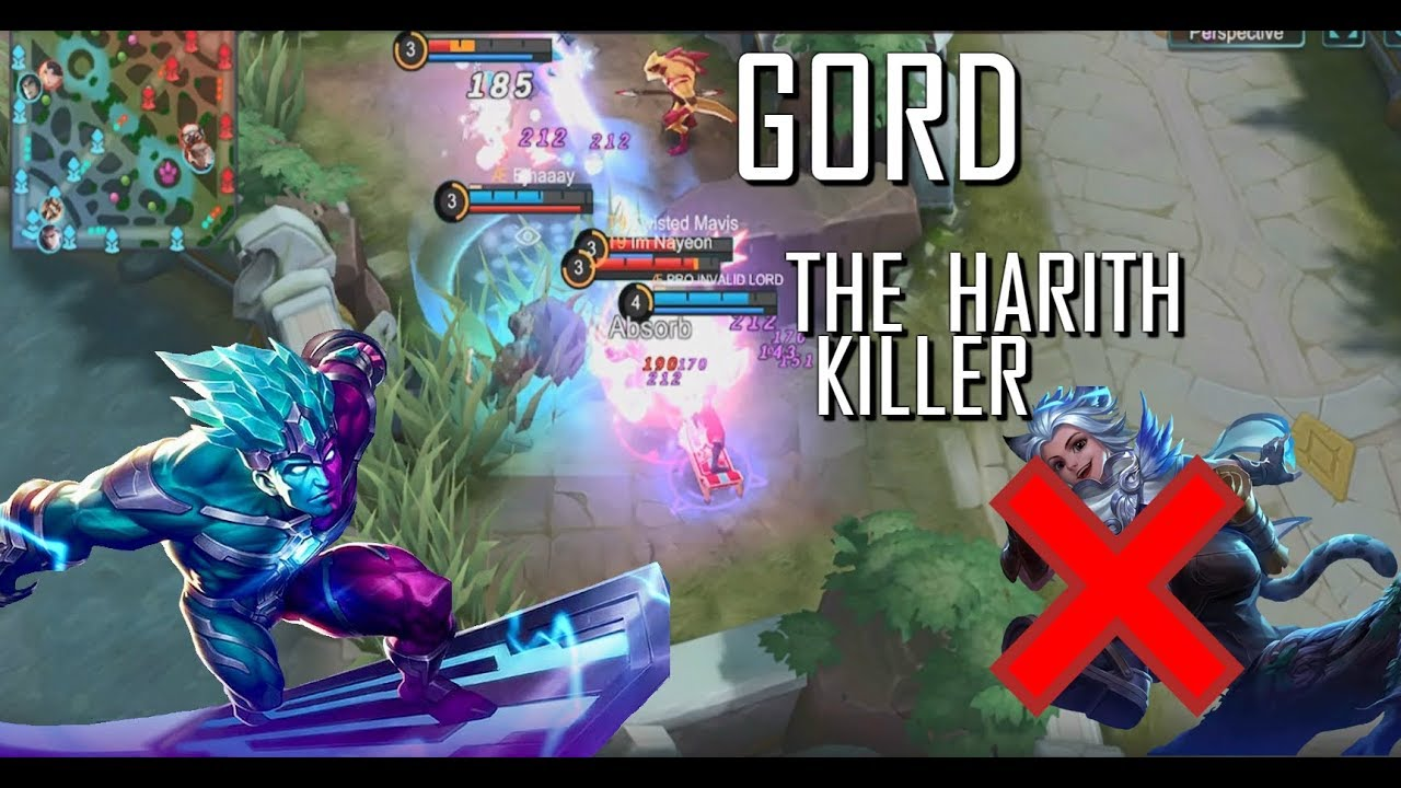 GORD THE HARITH KILLER - 1000 DIAMONDS GIVEAWAY - MOBILE LEGENDS - RANK - GAMEPLAY