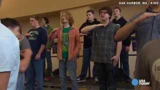 'Man Choir': It's more fun than football