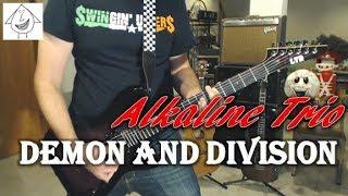 Alkaline Trio - Demon and Division - Guitar Cover (Tab in description!)