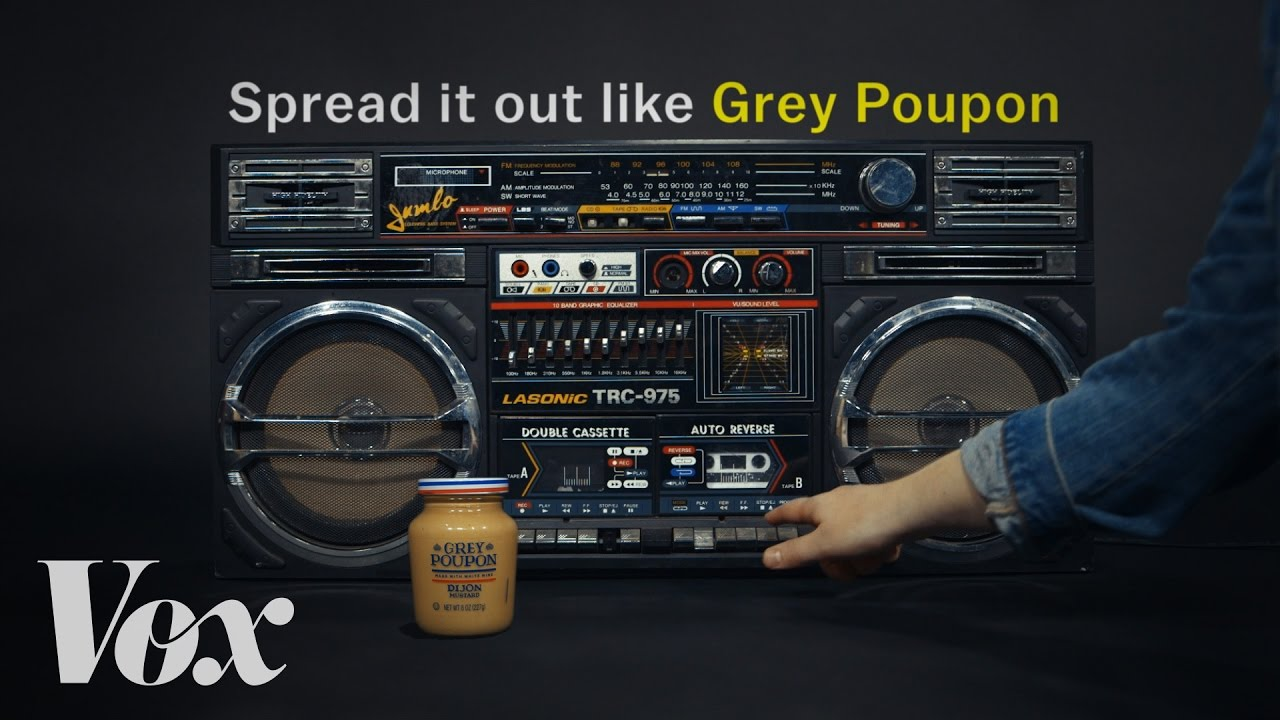 How Grey Poupon became hip-hop's favorite condiment - Vox