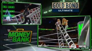 Women's Money in the Bank ladder match - WWE Money In The Bank 6 18 2017 Highlights HD