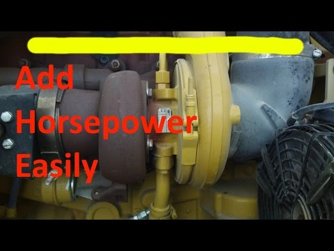 Increase Your Cat Diesel Engine Horsepower Rerate a C15, 3406, C7, or any electronic Cat  YouTube
