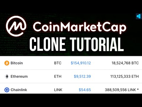 Code A Cryptocurrency Price Tracker (Blockchain Tutorial)