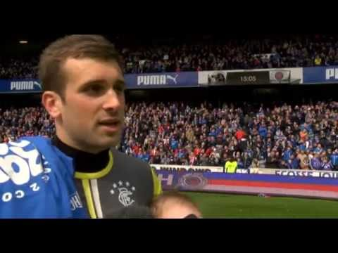 INTERVIEWS: Rangers Players Celebrate Title