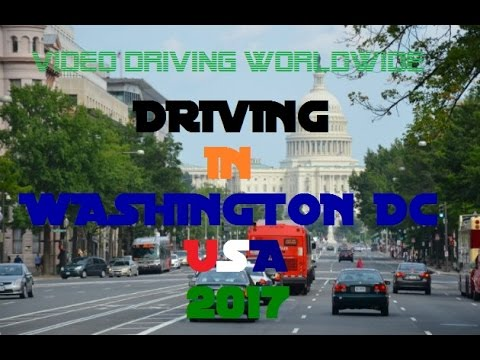 Driving in Washington DC USA 2017 | Video Driving Worldwide